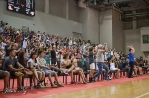 Crowd Reaction to OT v HITECH 31-8-14