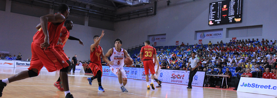Singaporeans Step Up in Victory Over Heat
