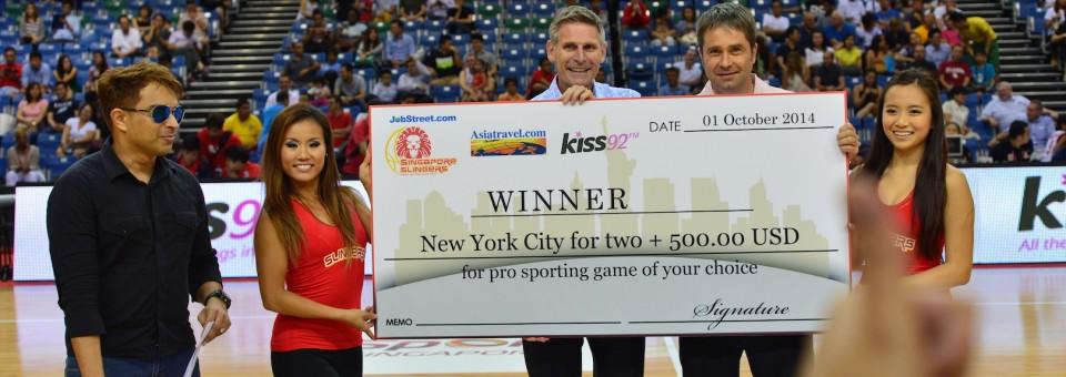 Singapore Slingers New York competition Winner