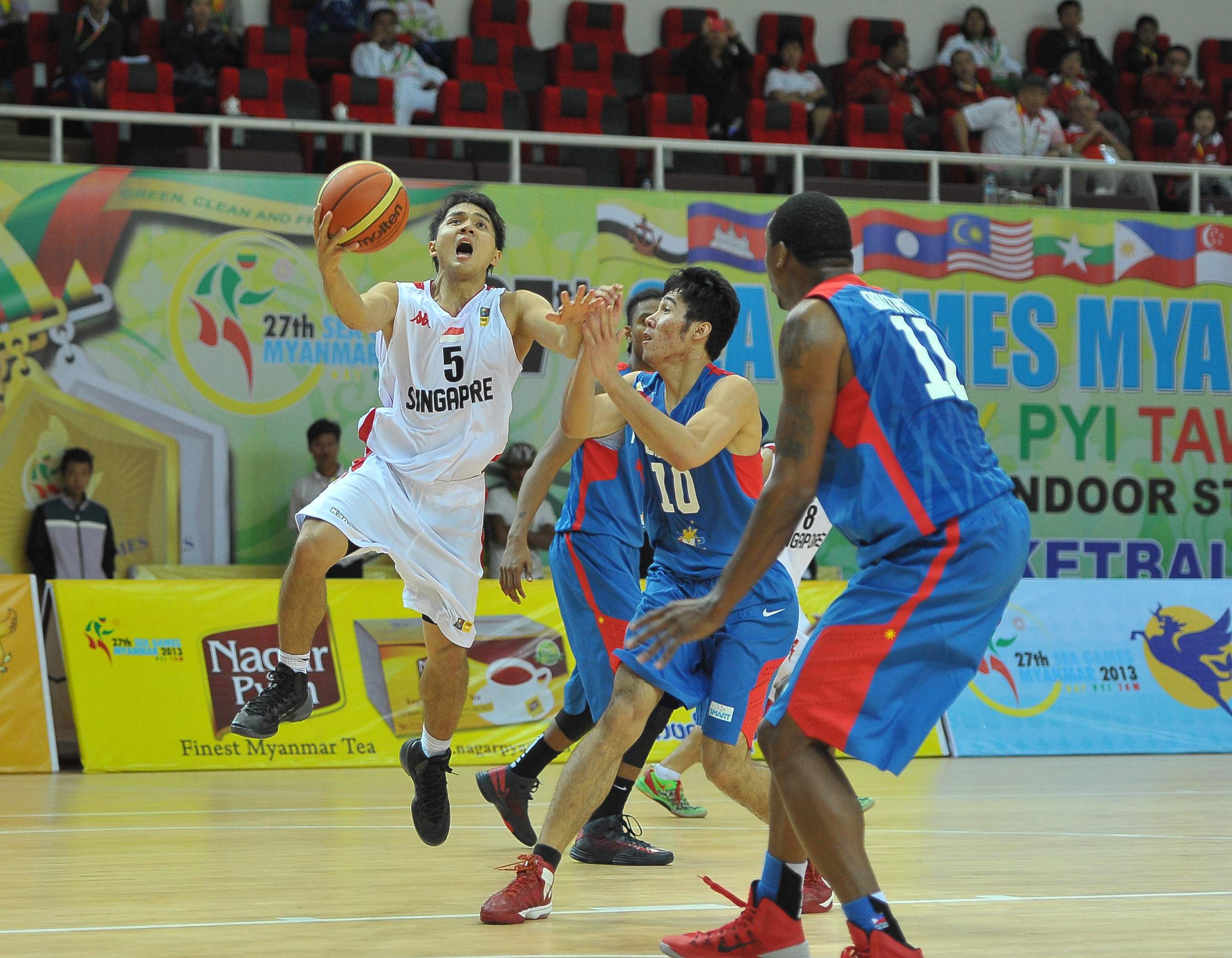 11th SEABA Men's Basketball Championship to be held in Singapore