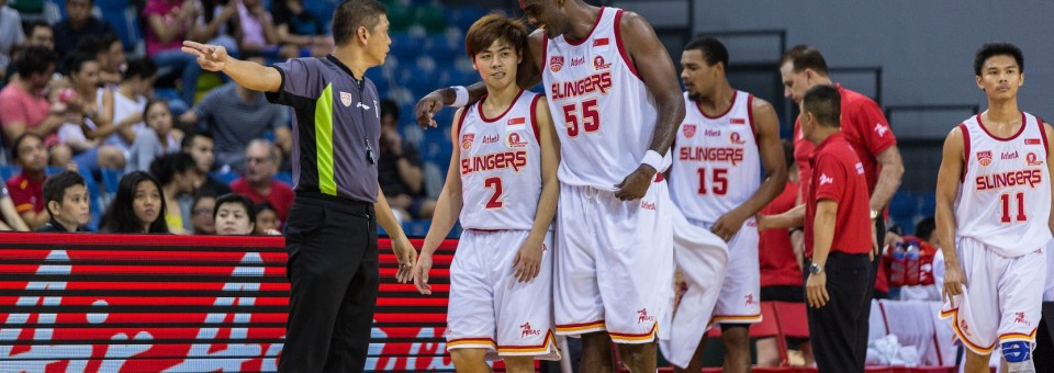 Singapore Slingers continue their run of 6 straight away games