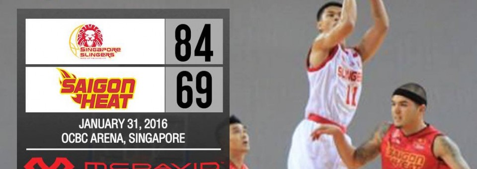 Singapore Slingers Win 10th Straight ABL game 84-69