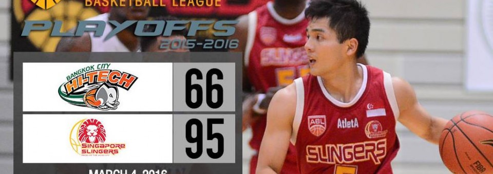 Singapore Slingers Wrestle Back Home Court Advantage in Semi Final Series