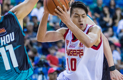 Slingers forward Leon Kwek named ABL Player of the Week