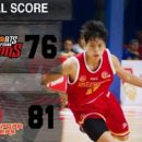 Slingers post hard fought 81-76 win against the Westports Malaysia Dragons