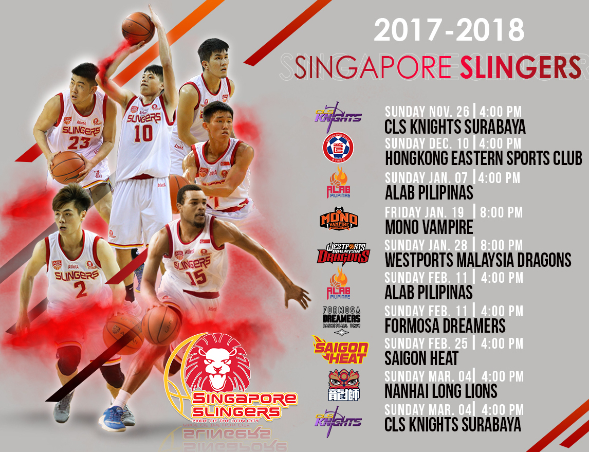 SLINGERS 2017-18 HOME GAME TICKETS ON SALE NOW!!!!!