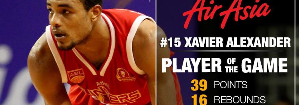 Slingers Ride on a Career Night from Import Alexander in route to a 79-71 win