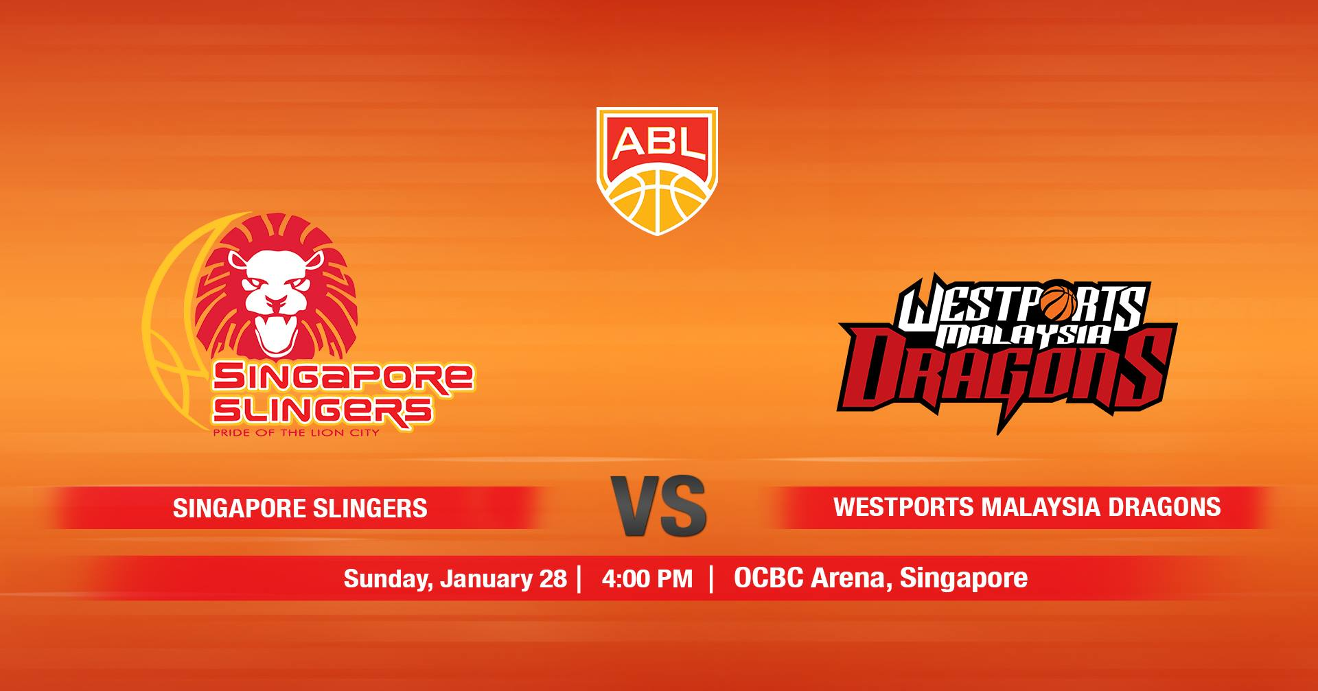 Singapore Slingers and Malaysia Dragons Face off in Second Game of Straits Cup Series