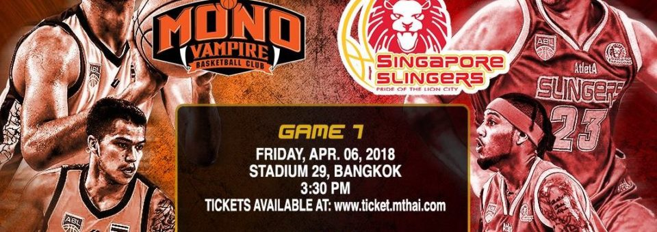Singapore Slingers vs Mono Vampires Quarter-Final Series starts next Friday