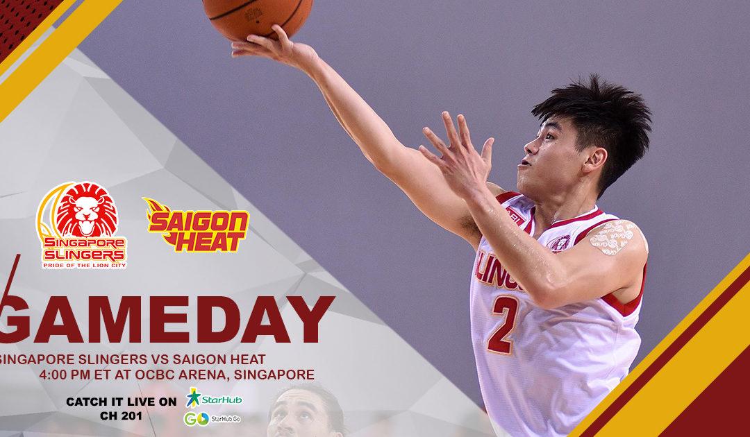 Game Preview: Singapore Slingers vs Saigon Heat