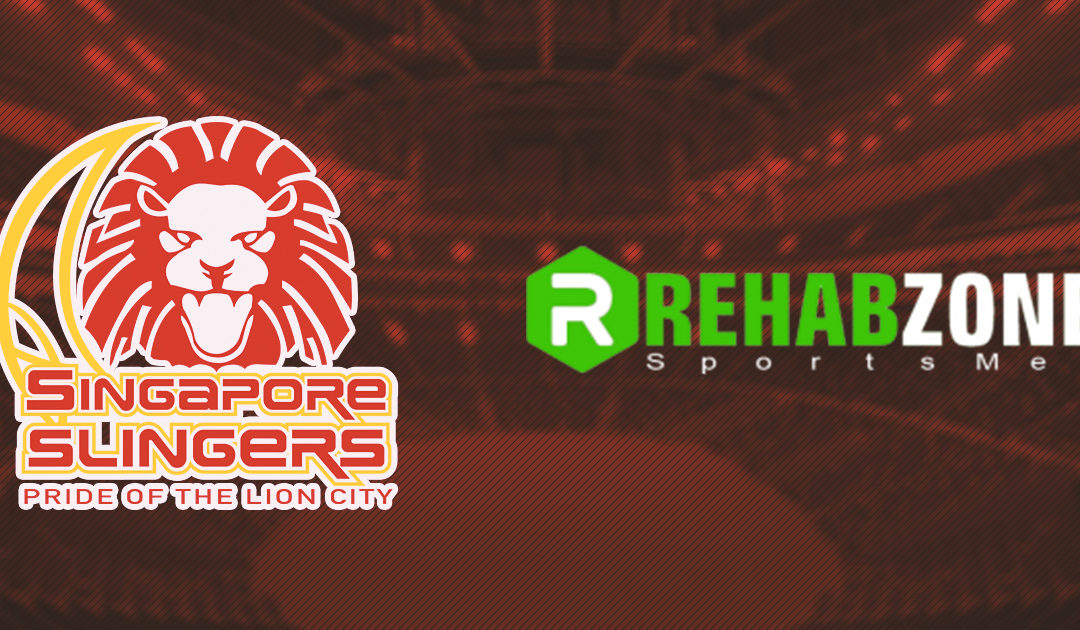 Rehab Zone Partners with the Singapore Slingers for the 2019–2020 ABL Season