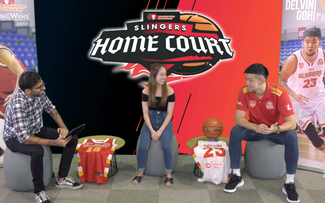 Slingers Home Court Ep 3: Delvin Goh and Chelsea Ann