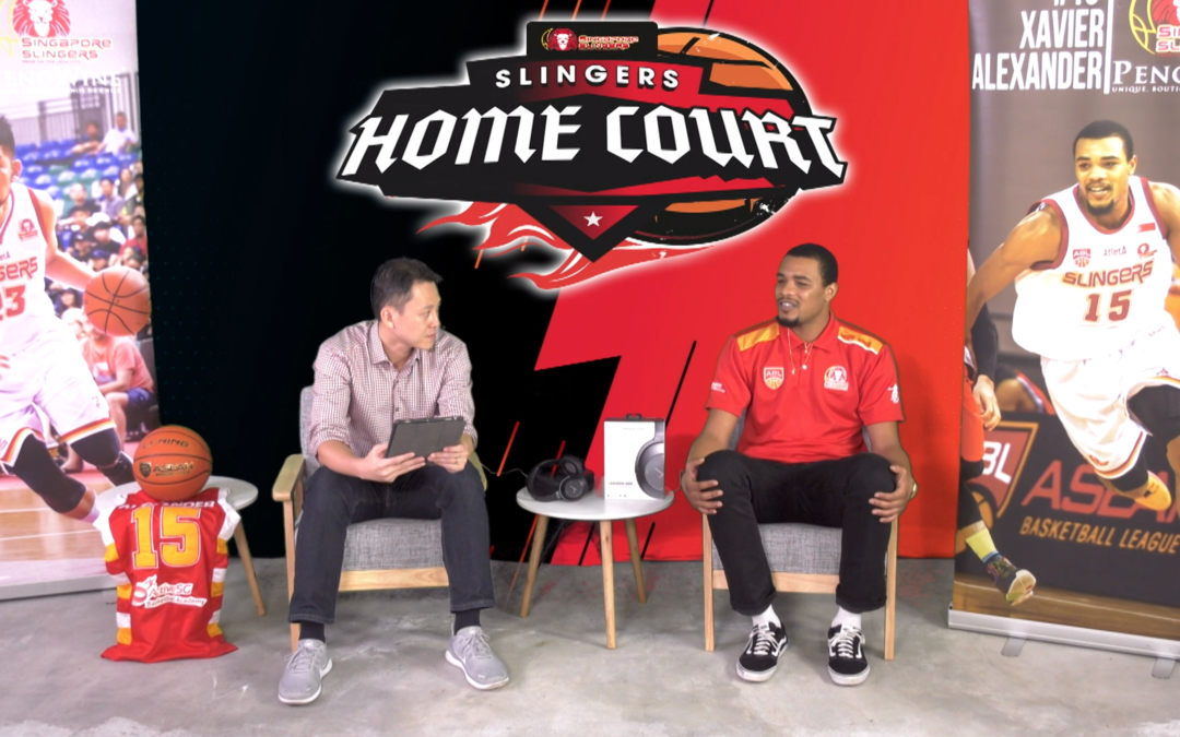 Slingers Home Court Ep 5: Xavier Alexander Talks About His Stay Home Notice Experience