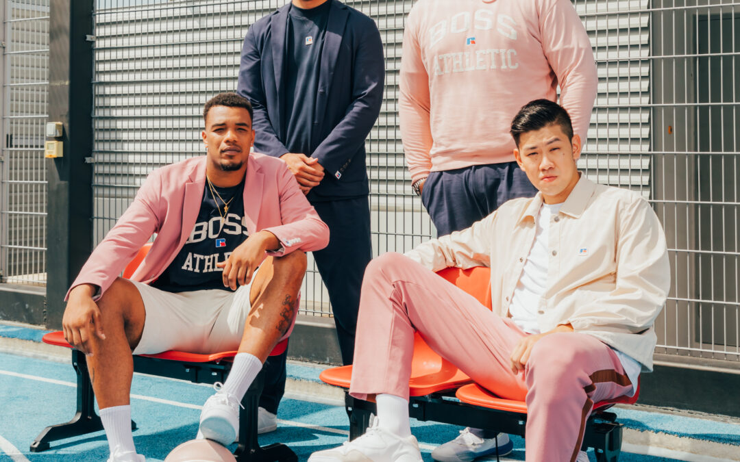 The Singapore Slingers team up with BOSS X RUSSELL Athletic