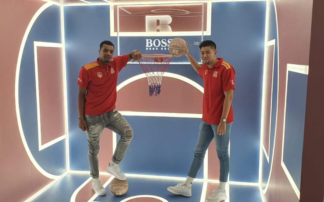 Hugo Boss launches basketball-inspired collection with Russell Athletic and Singapore Slingers